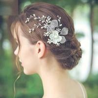 new hollow out shell hair comb wedding dress accessories studio photo headdress