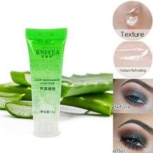Pro hydratant naturel apprêt maquillage Gel Transparent aloès 100% plantes pures Base apprêt fond de teint fard à paupières réparation des dommages de la peau