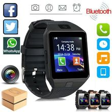 Reloj inteligente Bluetooth DZ09 2G SIM llamada telefónica con cámara pantalla táctil relojes de pulsera Relojes de pulsera para iPhone teléfonos Android