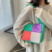 candy colors shoulder bag for women small totes ladies luxury designer purses and handbags lattice crossbody messenger bag