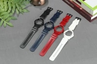 16mm colorful resin rubber watch band and watchcase for aw 5915905230awg m100101aw 582bg 7700g 7710