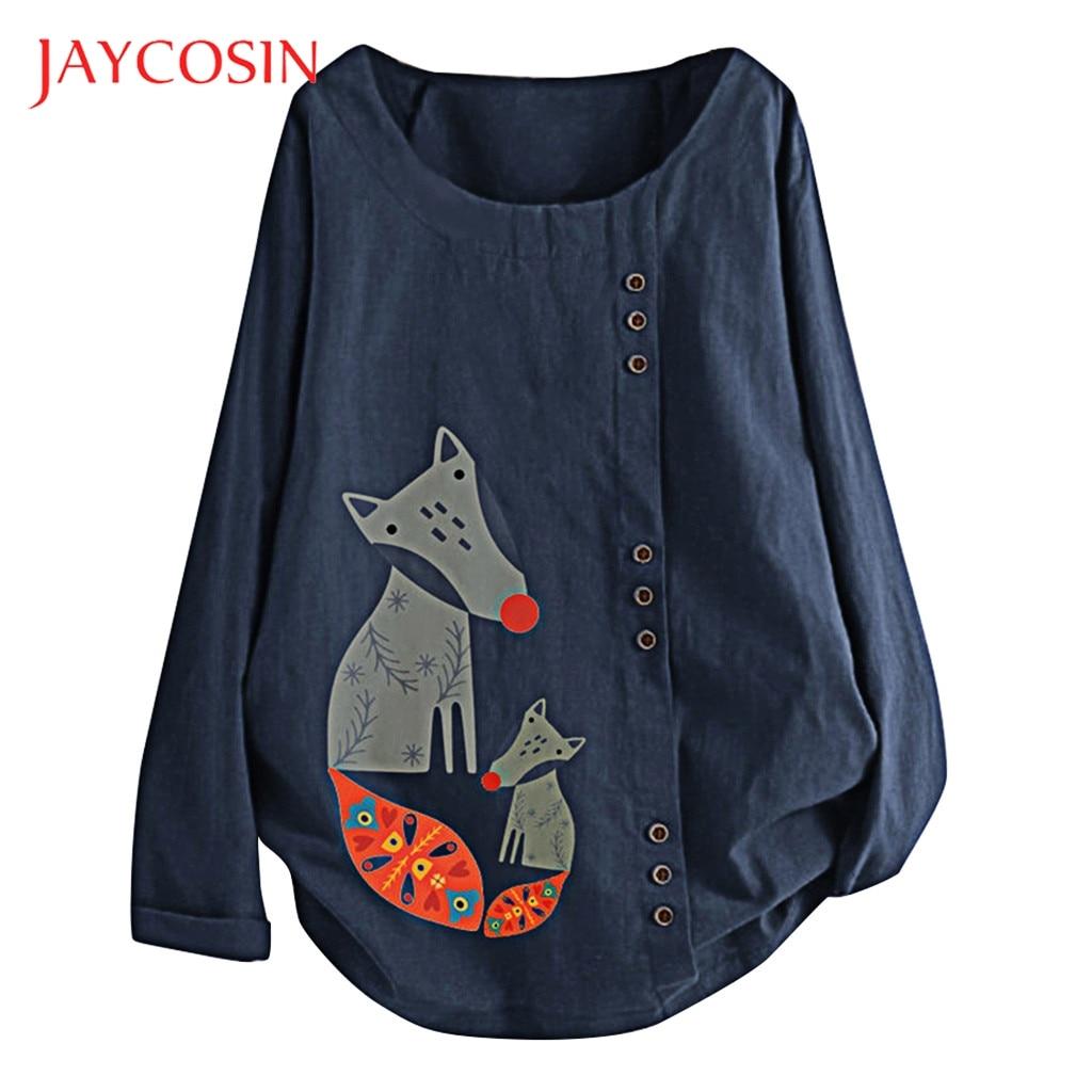 Jaycosin T shirt Women plus size 5XL vintage t shirt women print casual loose women t-shirt blusa tshirt 2019 tops streetwear 88