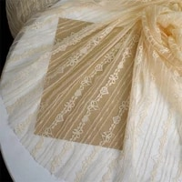 high quality soft stretch lace garment skirt bottoming shirt fabric diy hand embroidery fabric sewing accessories
