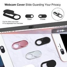 Webcam Abdeckung für MacBook PC Laptops iPad Tablet iPhone, ultra Dünne Shutter Magnet Slider Kamera Abdeckung Web Cam Privatsphäre Aufkleber