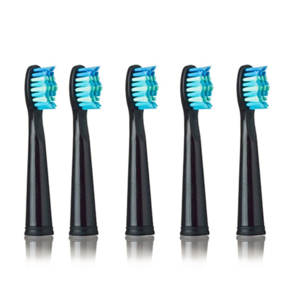 seago automatic toothbrush super soft bristle gentle for gum care electric toothbrush adults battery powered with 2 replace head Electric Toothbrush Heads Antibacterial Automatic Toothbrush Heads For SEAGO 949/507/610/659 Electric Toothbrush Head Replacemen
