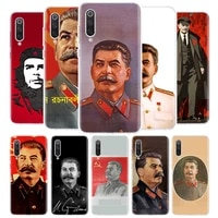 russian stalin ussr cover phone case for xiaomi redmi note 9s 10 9 8 8t 7 6 5 6a 7a 8a 9a 9c s2 pro k20 k30 5a 4x coque