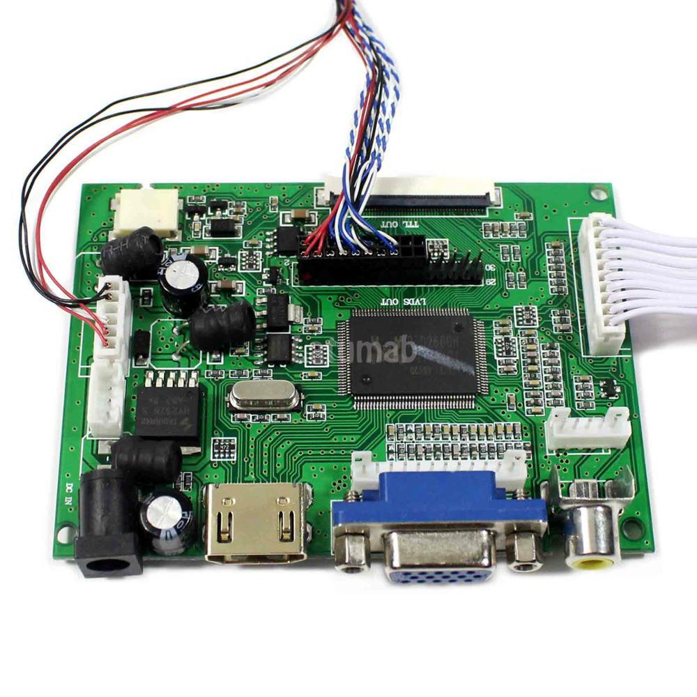 Latumab HDMI VGA 2AV LCD Driver Board For LP171WP5 1440x900 Resolution for 17inch LCD Screen Display