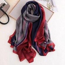 2020 livraison gratuite été femmes Foulard en soie foulards femme châle Foulard plage couvre-ups wrap imprime bandana dames pareo silencieux