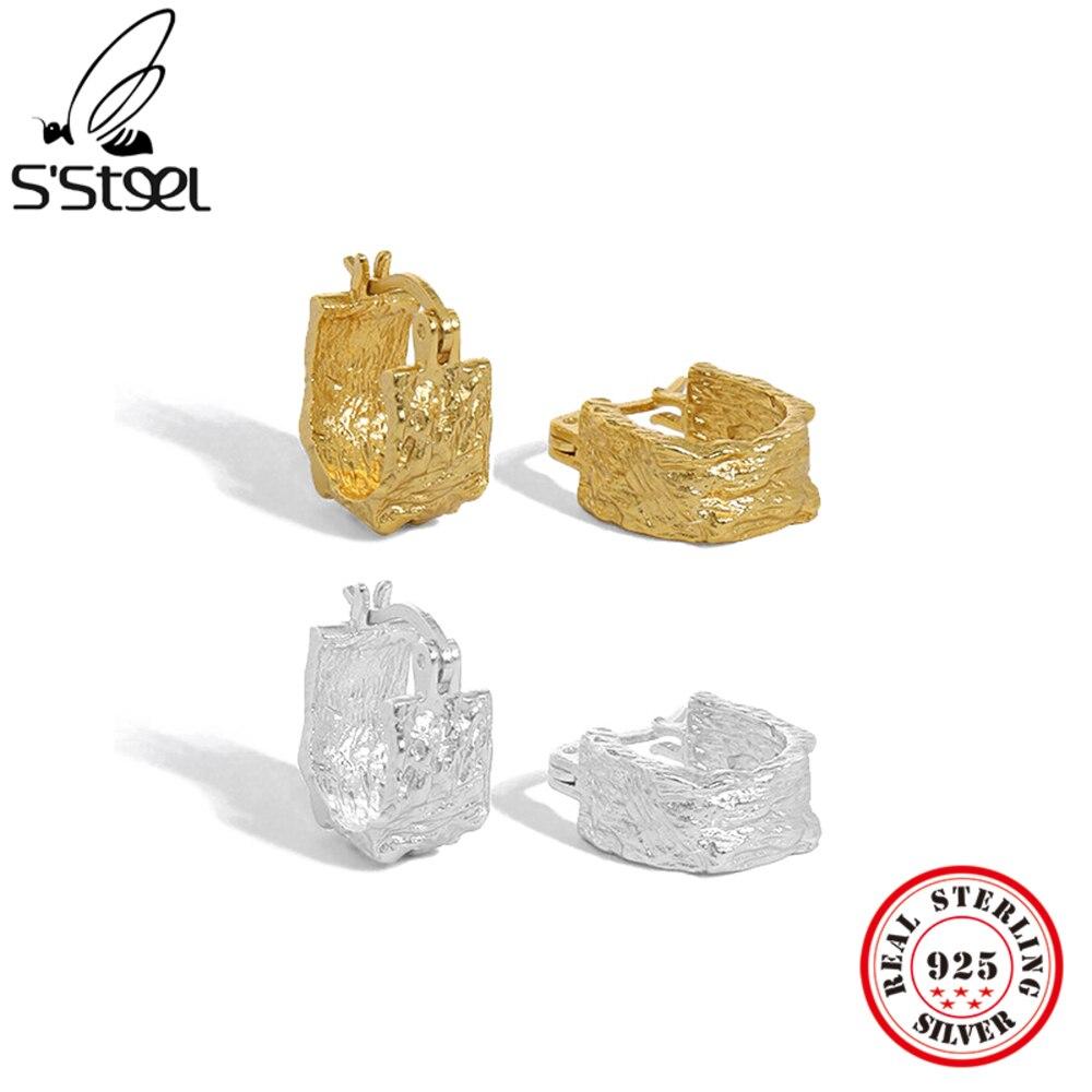 s'steel-Корейский-минималистский-серьги-из-чистого-серебра-925-пробы-серебряные-серьги-18k-позолоченные-заполненные-серьги-высокое-качество-пр