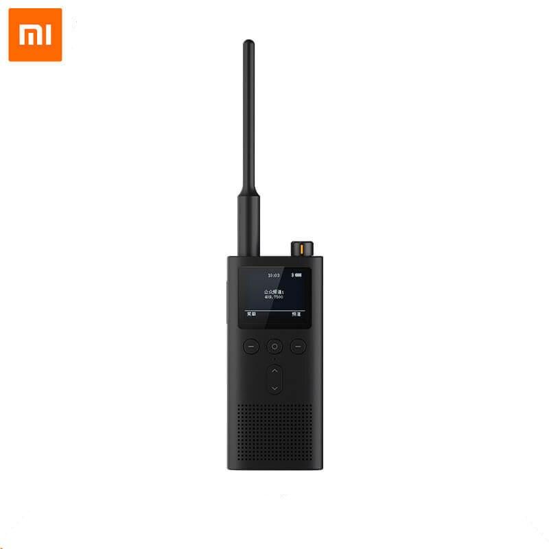 Рация Xiaomi Mijia Walkie Talkie 2, 5 Вт, УВЧ, УКВ, УКВ, 1-6 км, связь IP65, водонепроницаемая, длительный режим ожидания, Bluetooth