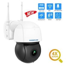 Snosecure 3MP Ptz Wifi Ip Camera Outdoor 4X Zoom Ai Menselijk Detecteren Draadloze Camera H.265 P2P Onvif Audio Beveiliging Cctv camera