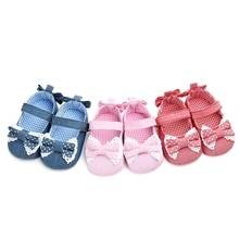 2020 Baby Shoes Soft Sole  Princess   Baby Girl  Shoes  Anti-Slip First Walker Baby Girl Shoes
