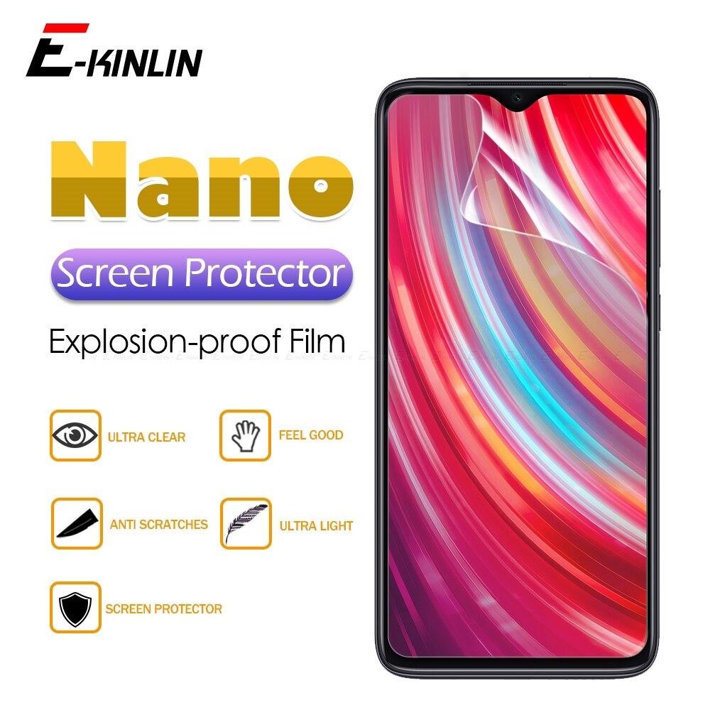 Protector de pantalla transparente pantalla suave Nano Anti explosión película protectora para Xiaomi Redmi Note 9S 9 8T 8 7 6 5 8A 7A Pro Max