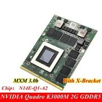 original new quadro k3000m gddr5 2gb video card n14e q1 a2 for dell m6700 m6800 mxm 3 0b gpu professional graphics card