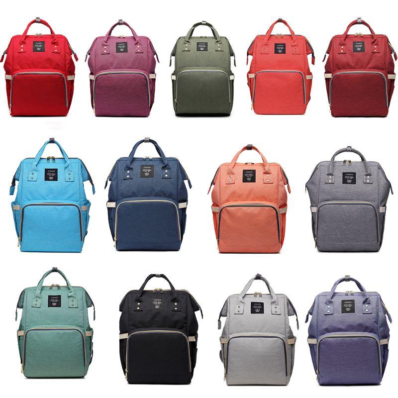 Fashion Diaper Bag Mummy Baby Care Nappy Bag Large Capacity BackpackOutdoor Travel Handbag