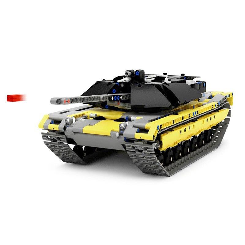 1270 Uds militar MOC Technic Set de tanques bloques de construcción arma guerra carro creador ejército ladrillos niños juguetes para niños regalos