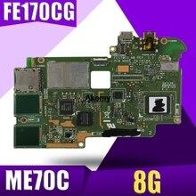 XinKaidi FE170CG Tablet motherboard for ASUS ME70C Test original mainboard 8G