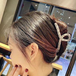 2021 Women's fashion hair claw Fish clip Diamond Crystal pearl claw hair claw hairpin modern stylish claw  clip gift Decoration