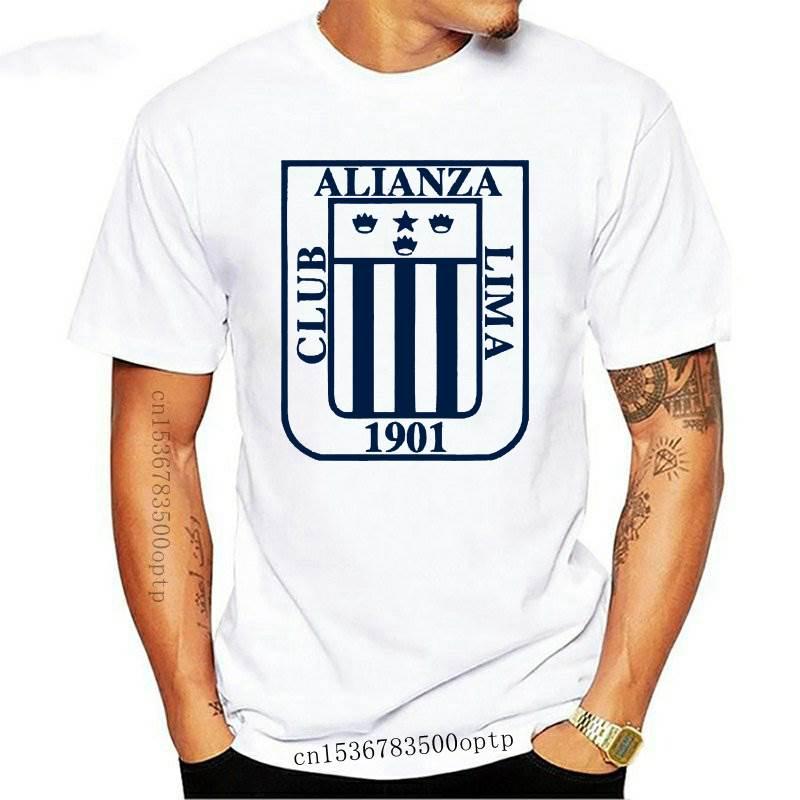 Camiseta de fútbol peruano para hombres y mujeres, camisa masculina de color...