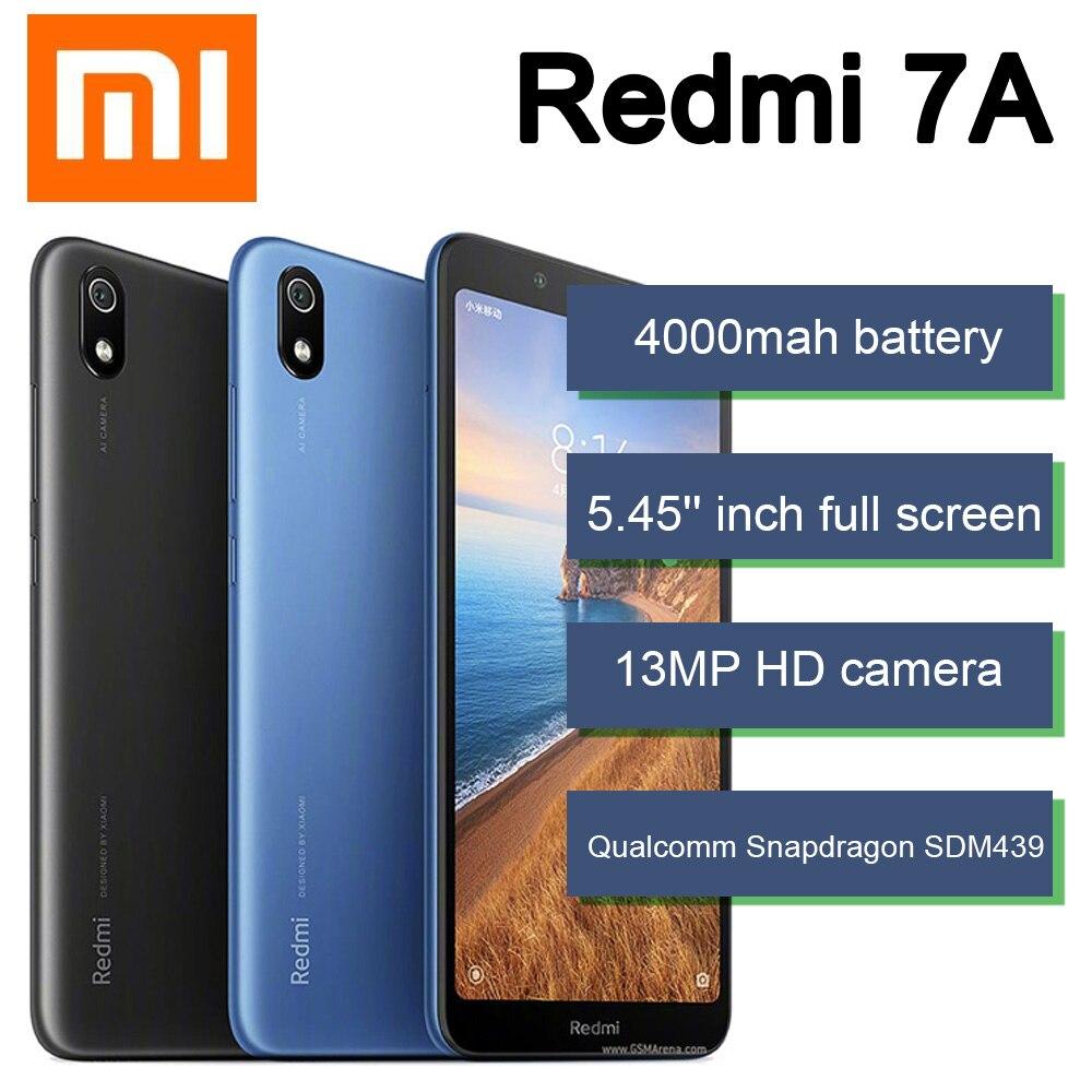 Xiaomi Redmi 7A teléfono inteligente 3GB 32GB 4000mah batería procesador Snapdragon 439...
