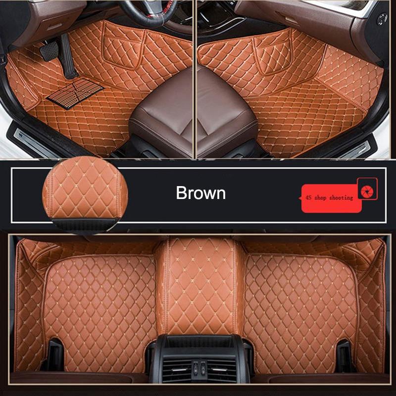 Customized Car Floor Mat for RENAULT Clio SANDERO/STEPWAY KAPTUR FLUENCE LOGAN MEGANE KOLEOS THALIA Car Accessories enlarge