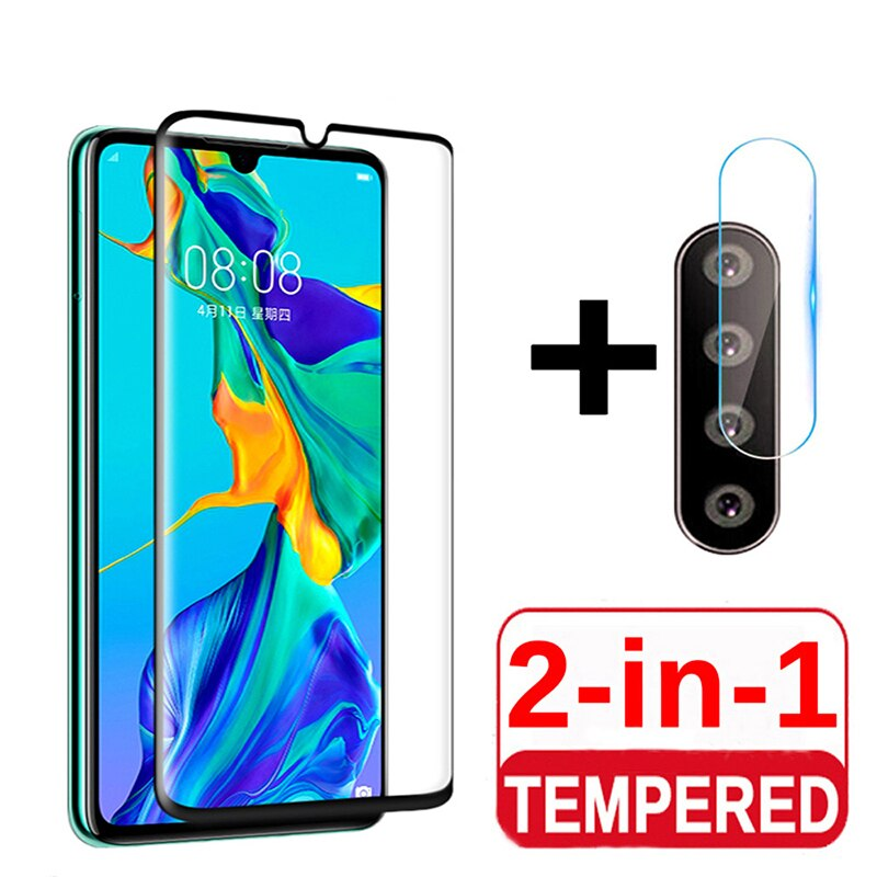 2 In 1 9D HD Transparent Film For OPPO A31 A91 A5 A9 2020 Rear camera lens Screen Protector scratch Tempered Glass Film Cover