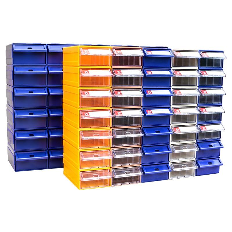 سميكة درج الأجهزة أداة تصنيف صندوق لتقوم بها بنفسك خزانة مجتمعة صندوق تخزين من البلاستيك صندوق المواد المسمار أشتات المنظم