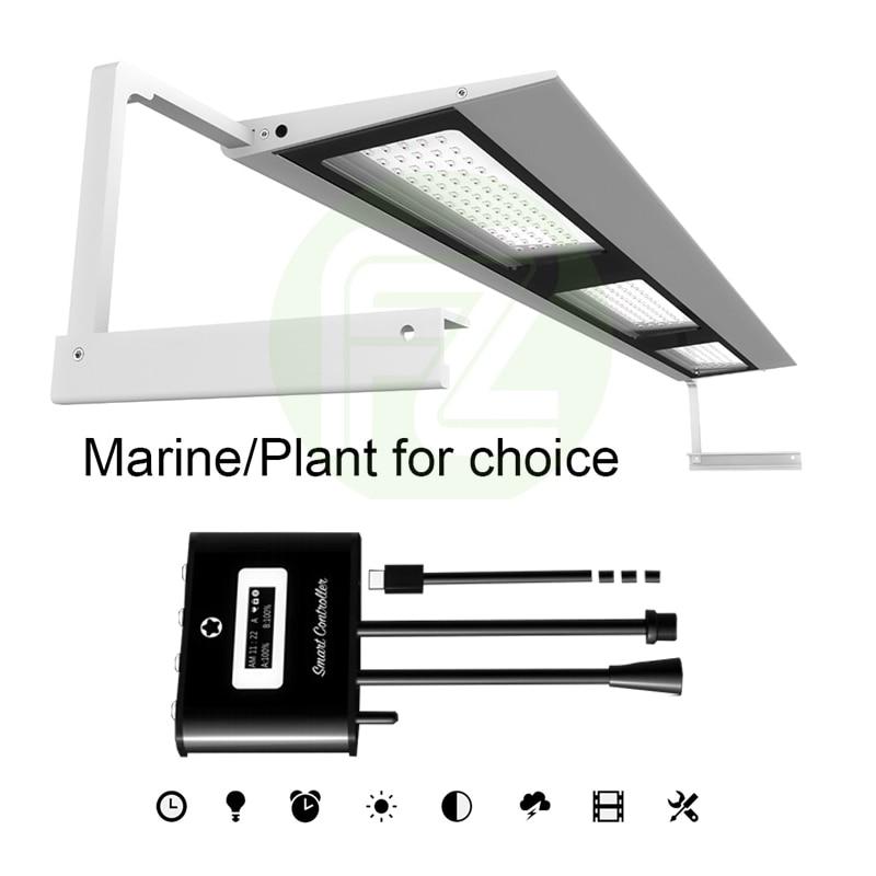 Promo Fzone MicMol iPhone Style Aquarium Full Spectrum Led Light for Aquacping Tanks Fresh/Marine for Choice