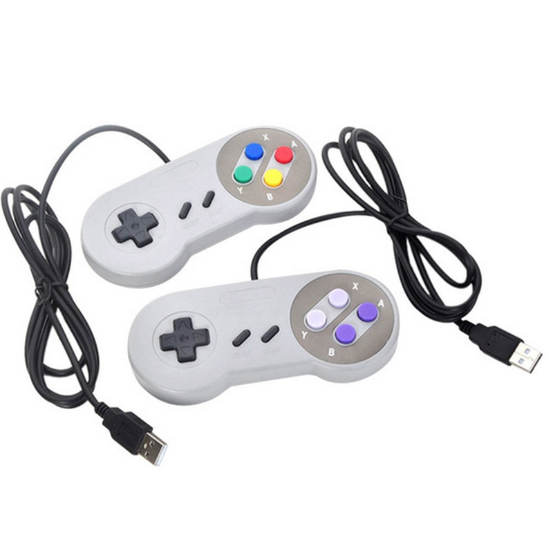 USB Controller Gaming Joystick Gamepad Controller for Nintendo SNES Game pad for Windows PC For MAC
