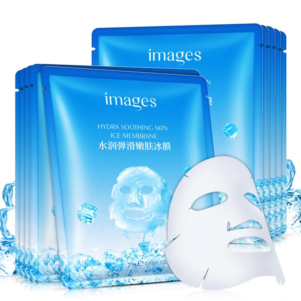 Images Beautiful Moisturizing Elastic Skin Renewal Ice Film Shrinking Pores Firming And Smoothing Hydrating Mask