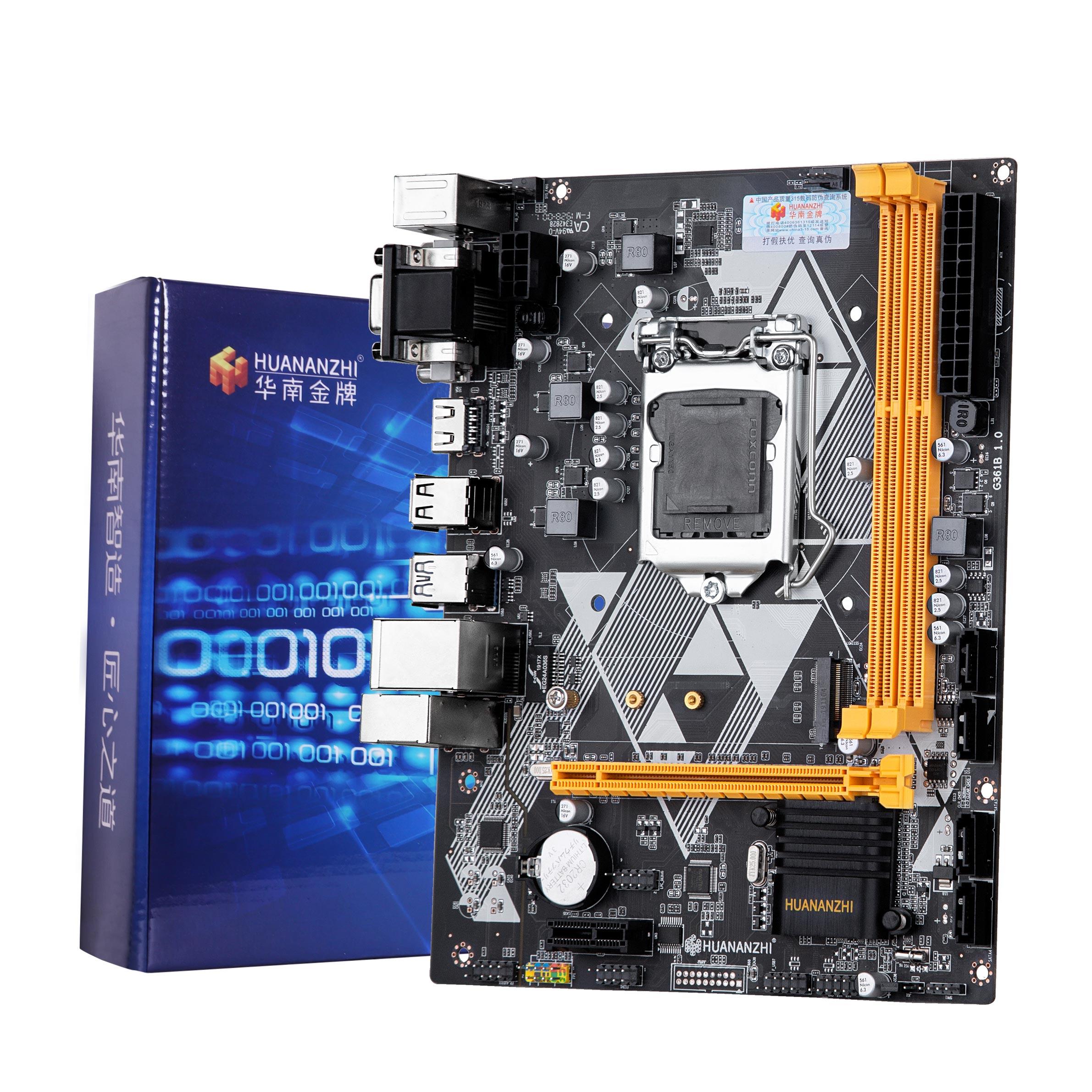 Huanzhi-اللوحة الأم B85 LGA1150 ، مع فتحة M.2 NVMe SSD ، مخرج VGA/HDMI/DVI ، SATA3.0 ، شراء كمبيوتر جيد