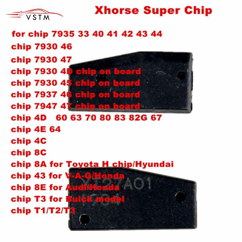 Xhorse VVDI Super Chip Transponder for ID46/40/43/4D/8C/8A/T3/47/41/42/45/ID46 for VVDI2 VVDI Key Tool /Mini Key Tool
