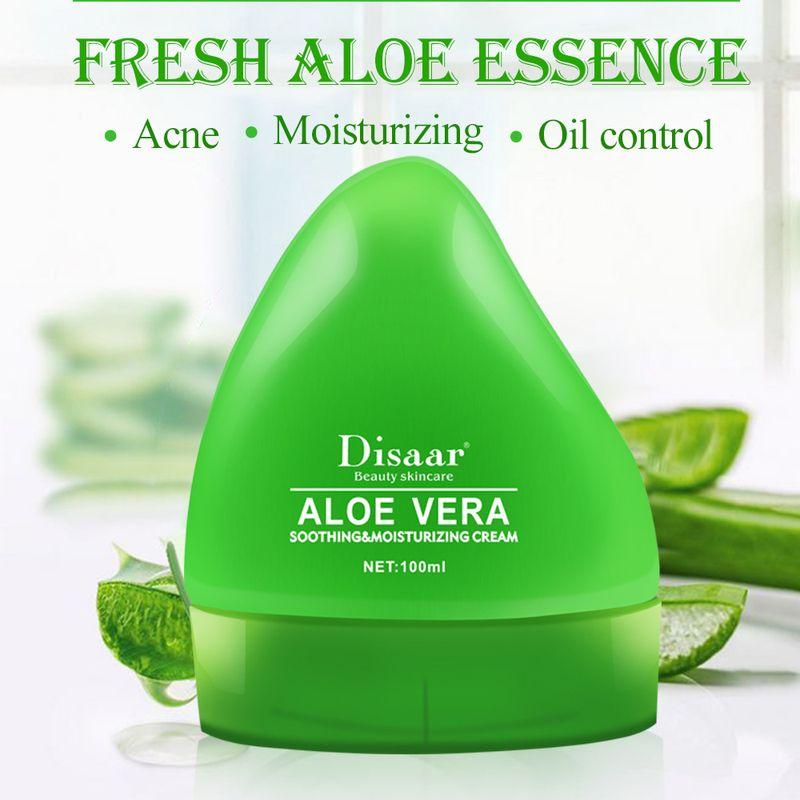 LAIKOU Natural Aloe Vera Face Cream Moisturizer Acne Treatment Gel For Skin Repairing Natural Beauty Products Skin Care 100ml недорого