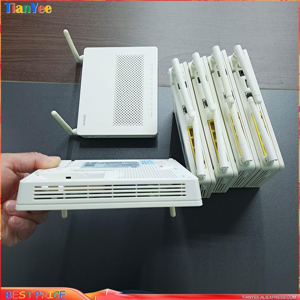 5pcs 10pcs /Lot Refurbished Huawei HG8546M HG8545M5 XPON 4FE 1GE+3FE +WIFI oNU Terminal English Firmware Modem Router ONT