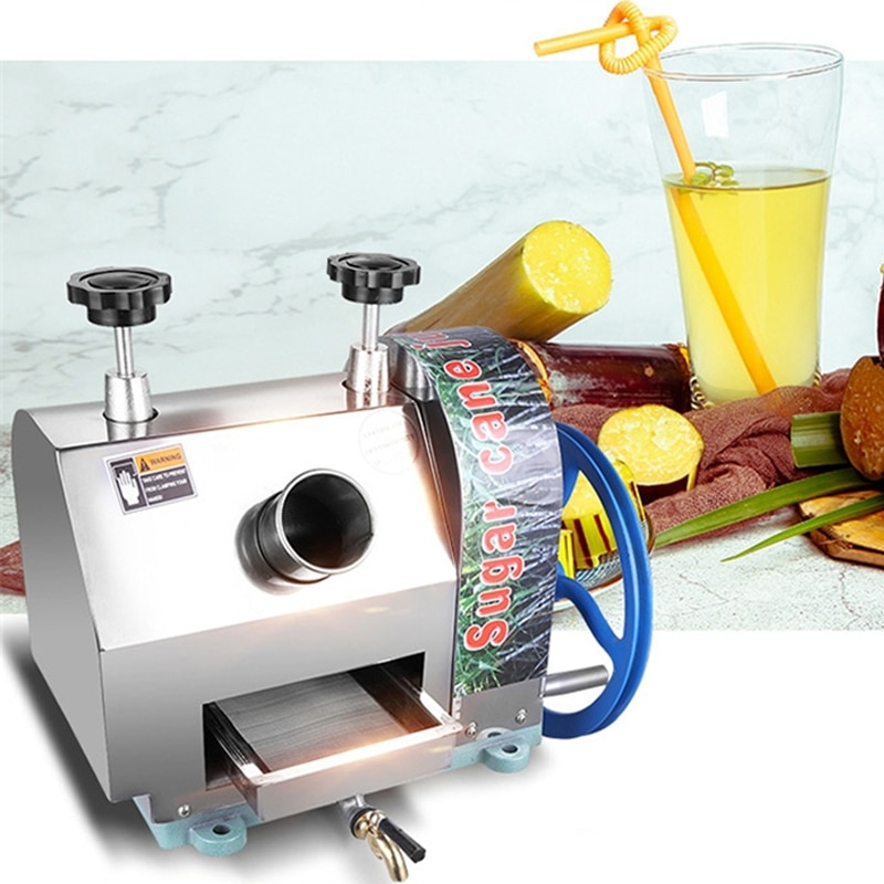 آلة قصب السكر المنزلية عصارة التلقائي المحمولة الصغيرة اليد كشك عصارة آلة قصب السكر