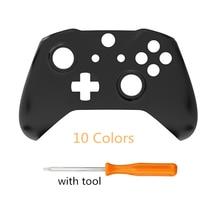 RETROMAX الجبهة شل ل Xbox One ضئيلة استبدال الجبهة حالة مع أداة ل Xbox One ضئيلة وحدة تحكم لاسلكية