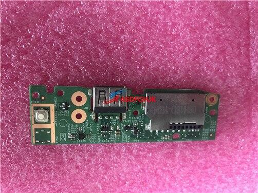 ل ديل انسبايرون 14 5482 için güç düğmesi USB SD kart okuyucu IO devre kartı kablo ile 2Y03W CN-02Y03W 02Y03W