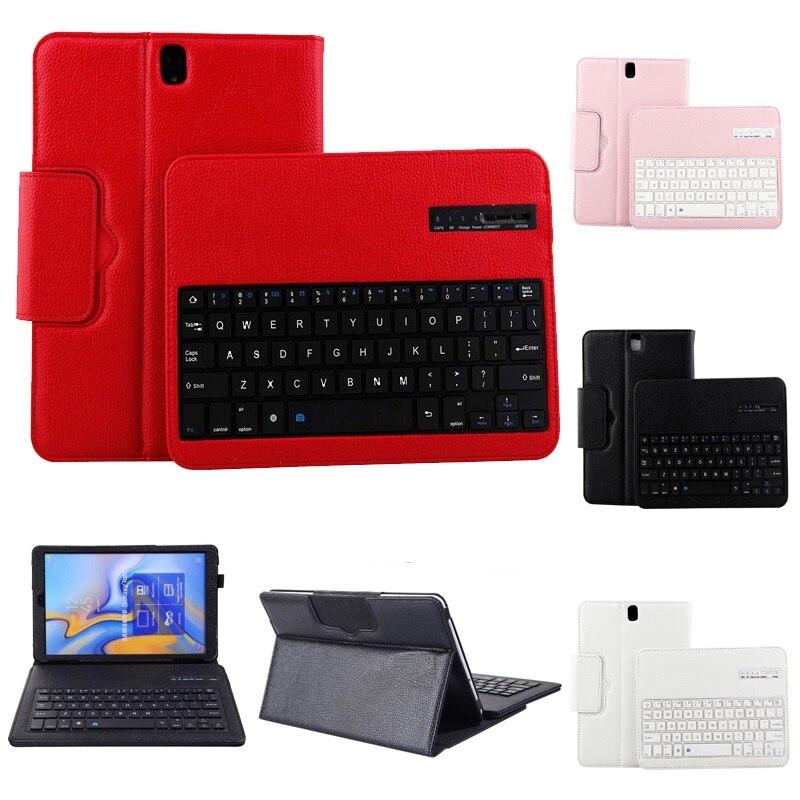 Nueva Funda magnética para Samsung Galaxy Tab S3 9,7 T820 con teclado PU Funda de cuero para Samsung T820 T825 la cubierta del teclado