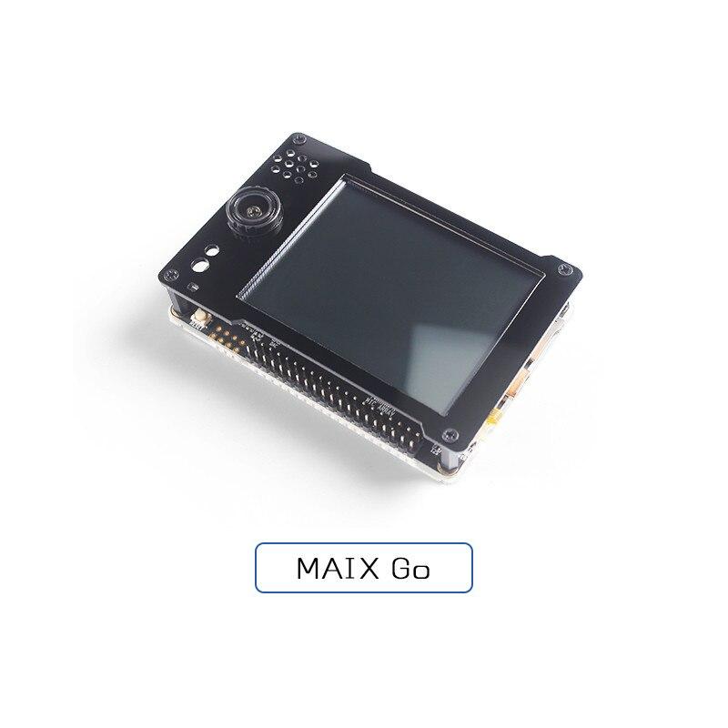 Depurador integrado Sipeed MAIX GO K210 RISC-V AI + lOT con cámara Binocular y matriz de micrófono
