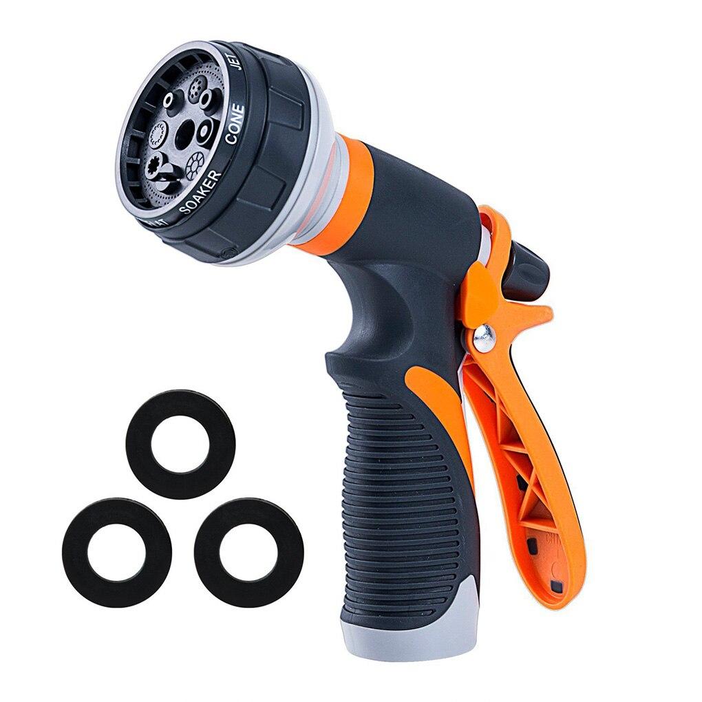 Multifunction Car Washing Spray Gun Garden Water Nozzle Irrigation Sprayer Adjustable Hose Sprinkler Home