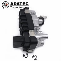 turbo actuator 729355 g 61 g 061 g61 turbine electronic wastegate 712120 6nw008412 for mercedes c 30 cdi amg w203 170kw 231hp