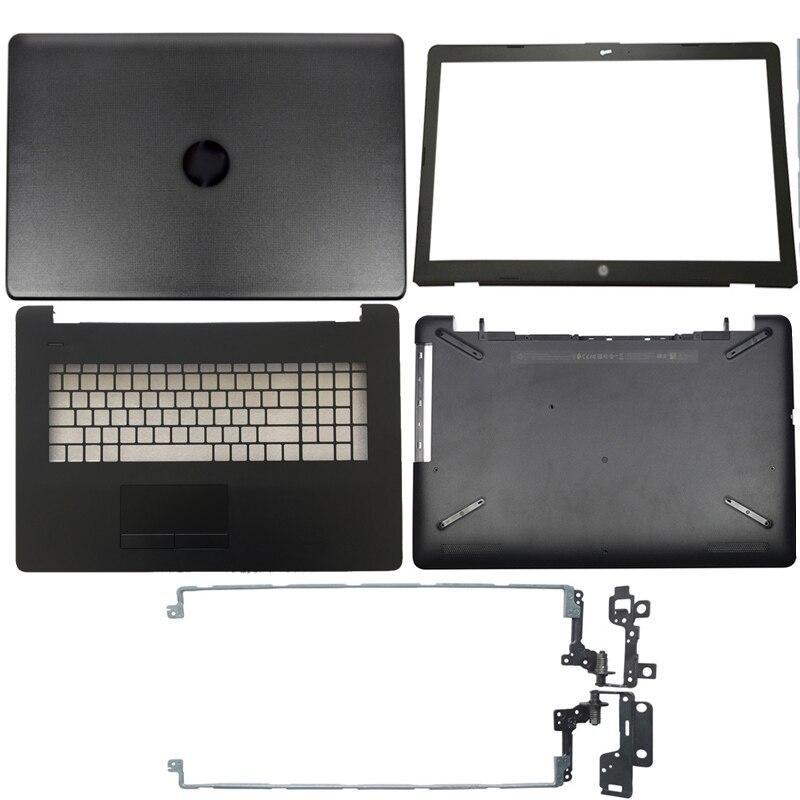 Купить с кэшбэком For HP 17-BS 17-AK 17-BR Series Laptop LCD Back Cover/Front bezel/ Hinges/Palmrest/Bottom Case 933293-001 926527-001 933298-001