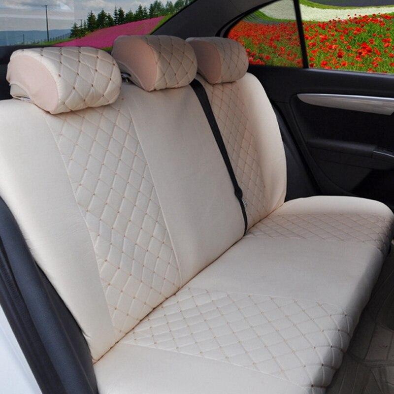 Custom Luxury Auto Car Seat Covers Universal Front Rear Seat for bmw E46 E90 Audi A4 A8 KIA RIO lada kalina vw golf 4 5 6 7 opel enlarge