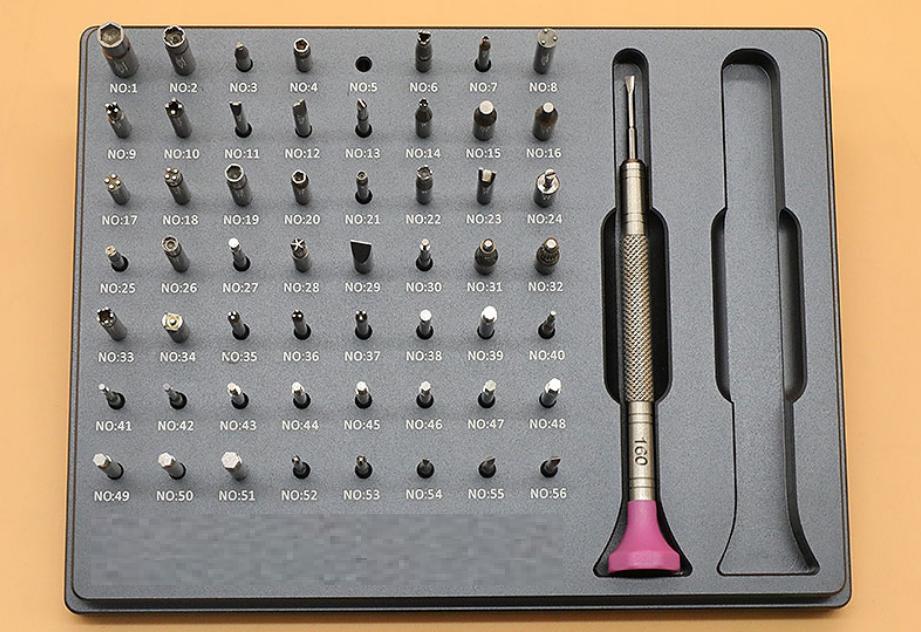 Multifunction Screwdrivers Kit for Removing Watch Caseback Bracelet Screw W3370