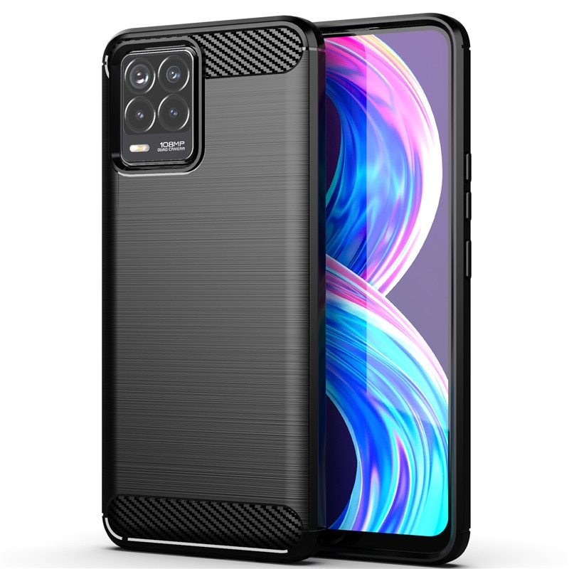 For OPPO Realme 8 Pro Case For OPPO Realme 8 Pro Cover Armor Shockproof Soft Silicone Protective Pho
