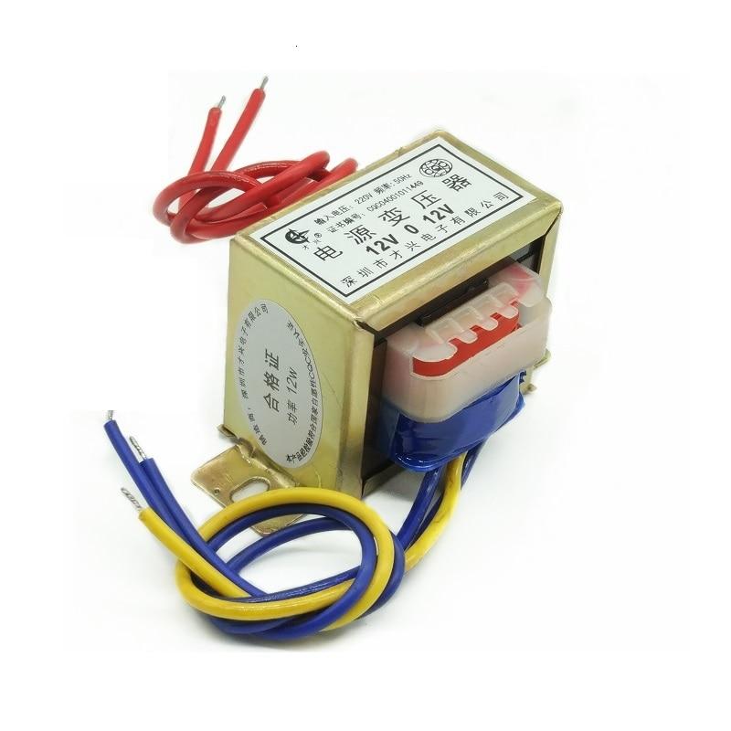 Transformador de audio de 12W, transformador de potencia aislado de baja frecuencia,...