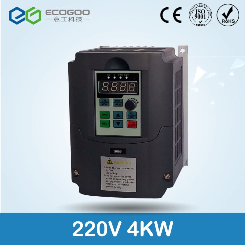 Inversor de husillo inversor CA 220 kW/v convertidor de frecuencia 3 fases inversor de frecuencia para controlador de velocidad del motor VFD
