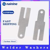 100pcs 0.15*20*4 Nickel Plated Steel Strip Strap Sheets for Battery Spot Welding Machine Welder Washers
