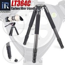 LT364C trépied de caméra professionnel robuste Ultra Stable support de caméra dobservation doiseaux de niveau supérieur 36mm Tube de jambe charge maximale 77lb/35kg
