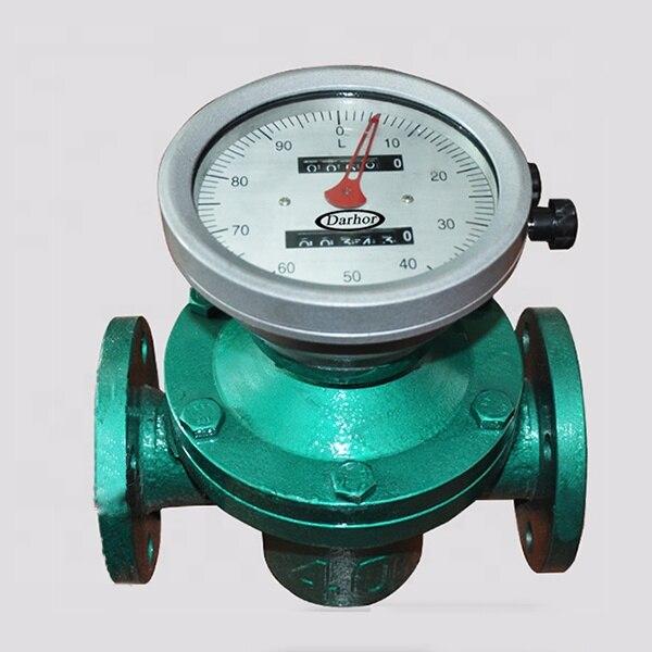 Medidor de Fluxo de Combustível Venda Quente Oval Engrenagem Diesel Sensor